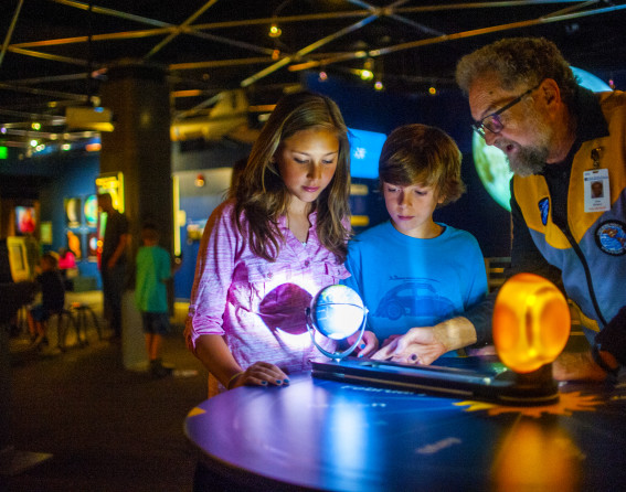Denver Museum of Nature and Science Exhibit with Children