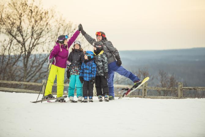 Skiing at Shanty Creek Resorts