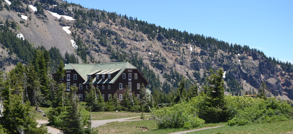 Crater Lake Lodge in July