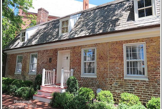 Patrick Creagh House or Aunt Lucy's Bake Shop, c. 1735-1747.