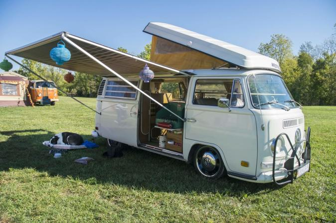 Volktoberfest Camper's Village (Photo courtesy of the Volktoberfest website)