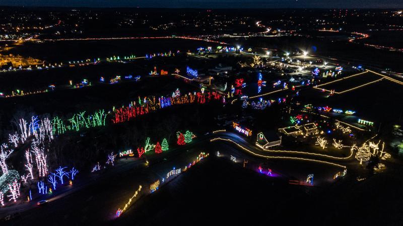 Shady Brook Farm Holiday Light Show