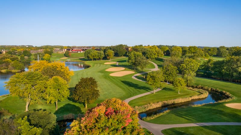 Grand Geneva Golf Course Fall