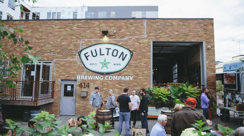 Exterior view of Fulton Brewing Company