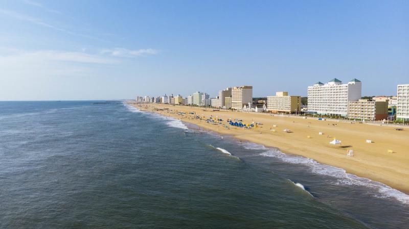 Oceanfront - Beach Drone
