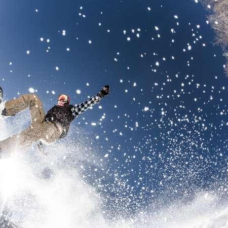 Snowboarding at Appalachian Ski Mtn. | Boone, NC