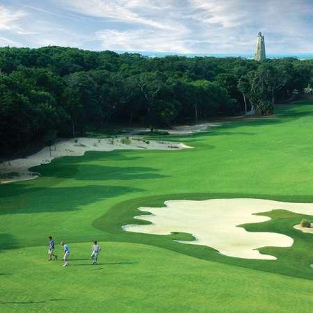 Bald Head Island Club Hole #7 Green