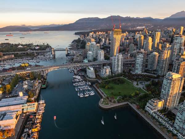 False Creek Aerial