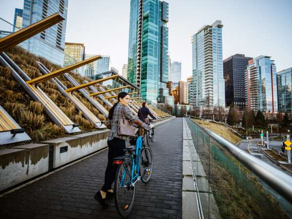 coal harbour bike