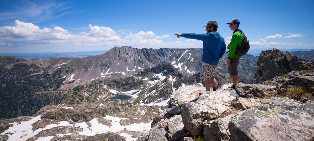 Hiking in the Zirkel Wilderness in North Routt outside Steamboat Springs, Colorado