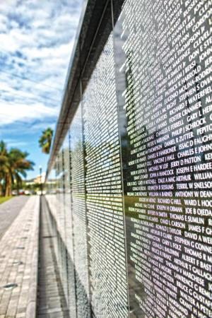 Vietnam Wall Memorial in Punta Gorda, Florida