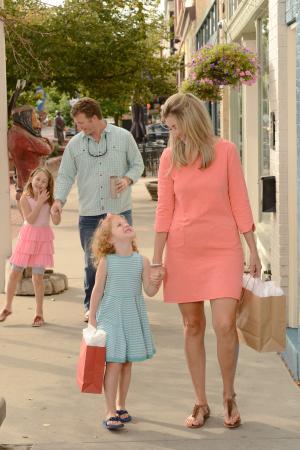 Family Shopping in Golden