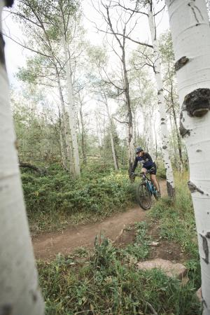 Happy Jack Trail System Aspen Tie City Laramie Mountain Biking
