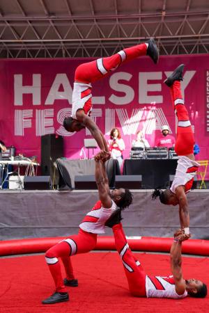UniverSoul Circus Tumblers