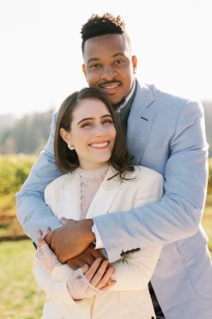 NBA Player CJ McCollum and his new bride