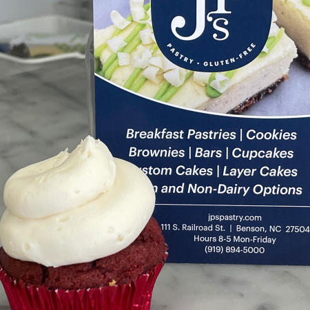 JP's Pastry located in downtown Benson, NC.