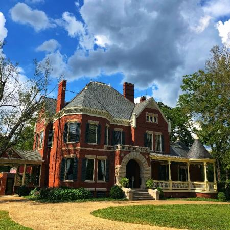 Third Creek Greenway passes by Westwood, a stately brick home built in 1890.