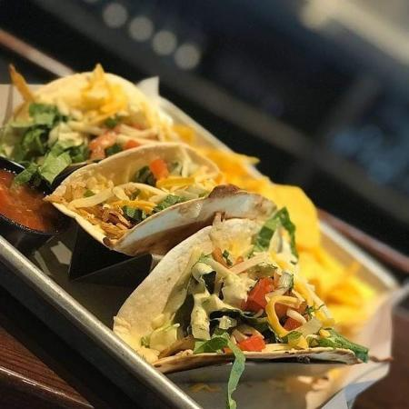 tacos from 859 taproom in florence ky