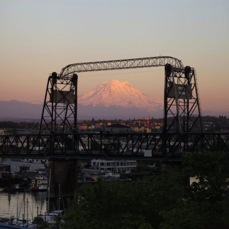 Sunset at Fireman's Park in Tacoma