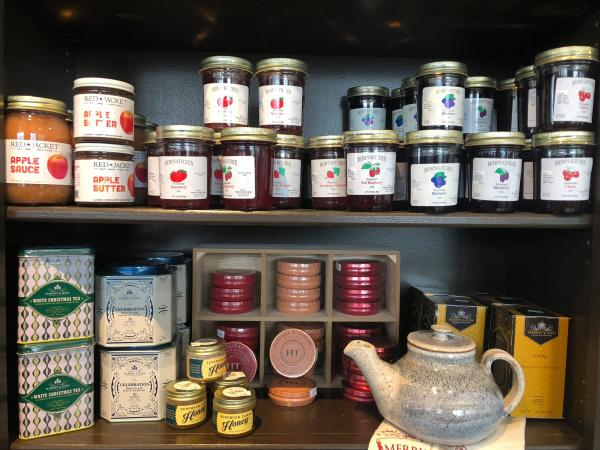 Jams and Teas at King Ferry Corner Store