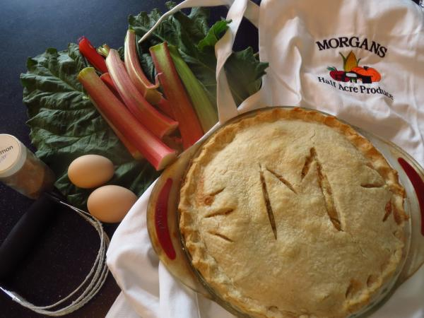 Produce and pie from Pies Morgan's Half Acre Produce