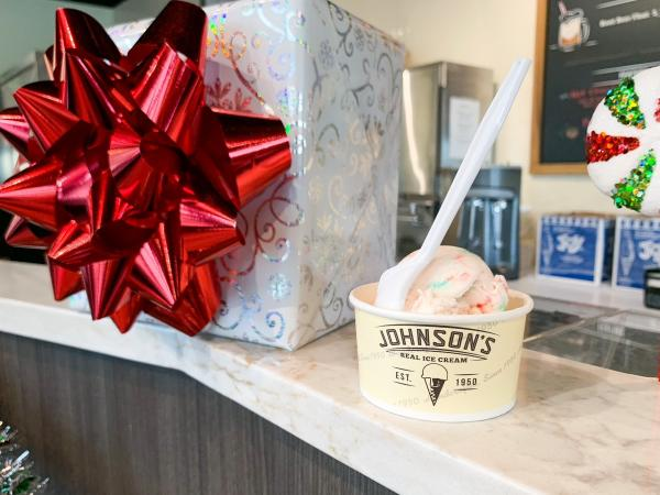 Johnson's Holiday Ice Cream