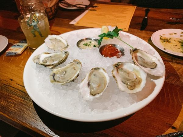 Oysters from The Pearl