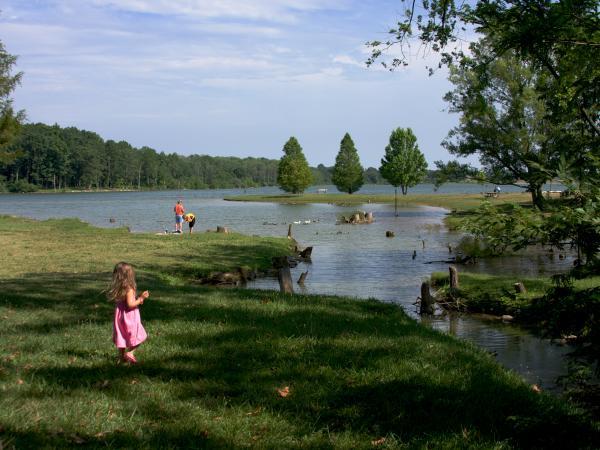 Freeman Lake Little Girl
