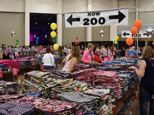 8673581c0b I first heard about the Vera Bradley Annual Outlet Sale in 2016. I had been  in Fort Wayne for less than a year
