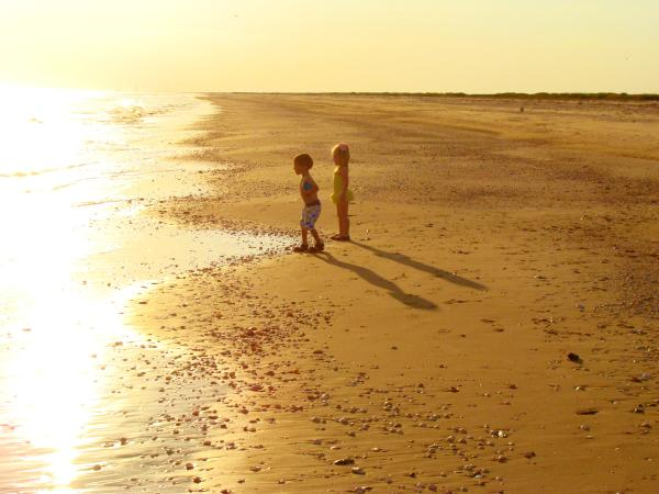Kids on the Gulf of Mexico Beaches