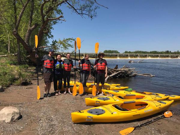 Mississippi River Paddle Share