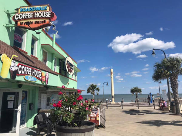 Boardwalk Coffee House, Myrtle Beach, SC
