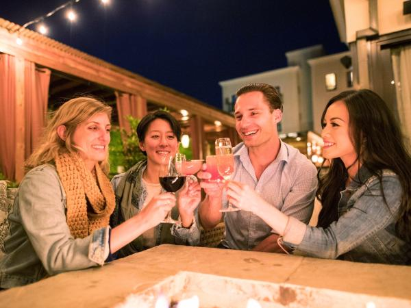 Group Cheers in Napa Valley