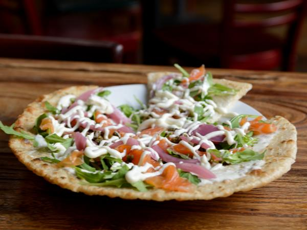 Napa General Store Salmon Flatbread