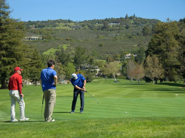 Golf in the Napa Valley