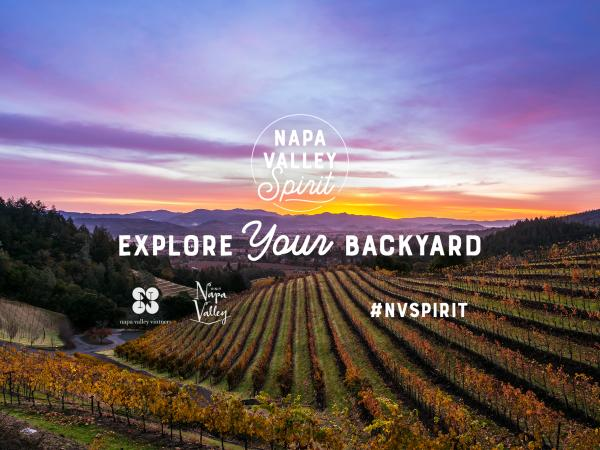 Napa Valley Spirit - Explore Your Backyard #NVSpirit