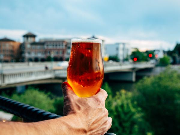 Beer tasting in Napa Valley