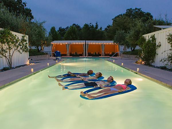 Floating Meditation at Solage