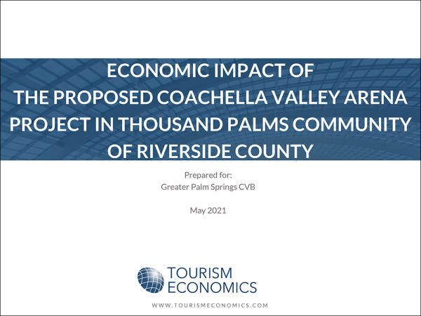 Coachella Valley Arena Project: Title Page