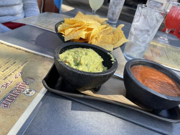 Cayenne Chips and Guac