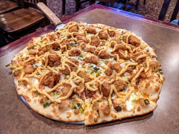 Clark's Crossing pizza special