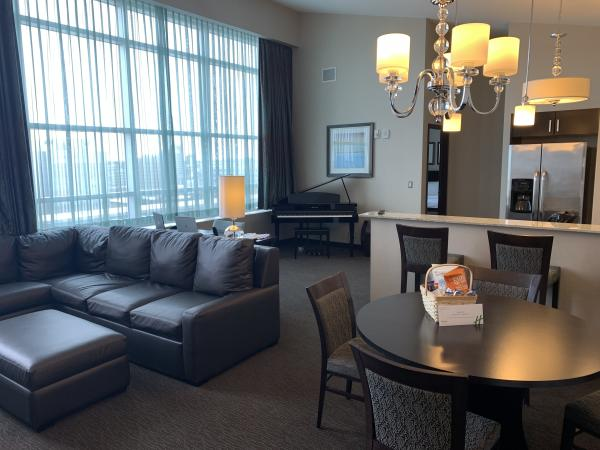 Holiday Inn Downtown penthouse