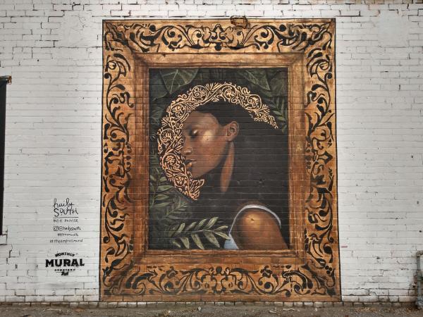 The Empress Mural