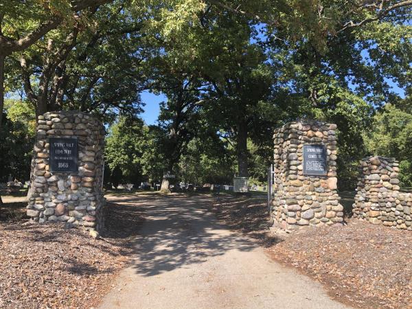 Springvale Cemetery Entrance