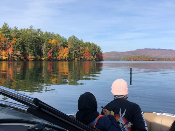 Experience Squam Boating Excursions Fall Foliage