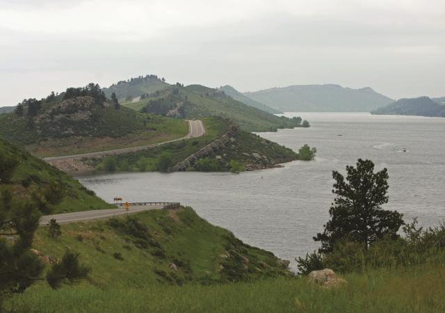 Horsetooth Reservoir Ridge
