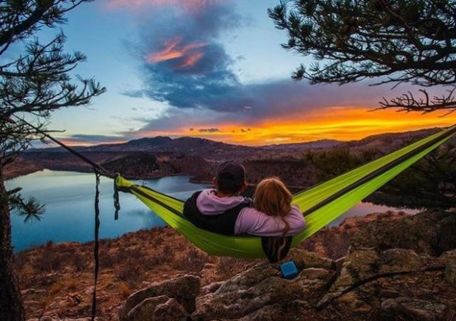 Horsetooth Reservoir Hammock Camping-credit Richard Haro