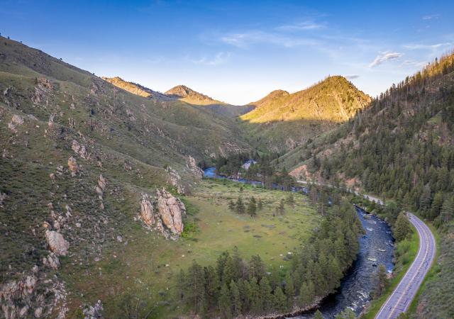 Poudre Canyon highway 14 road trip
