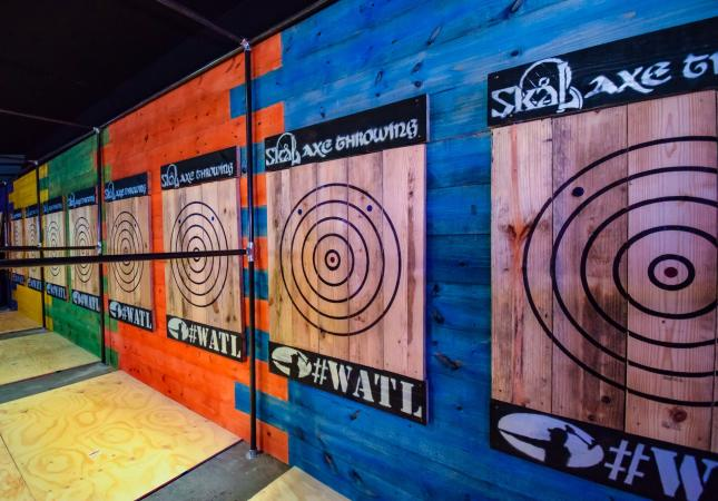 Credit Skal Axe Throwing Facebook page
