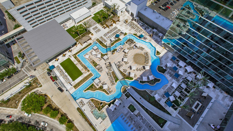 Marriott Marquis Lazy River